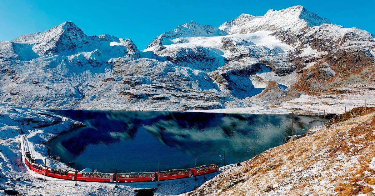 train travel in europe and sustainable train travel tips