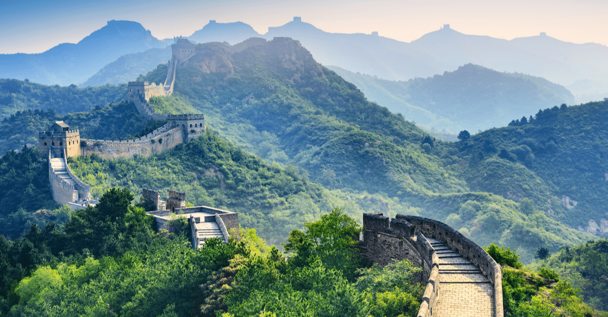 new seven wonders of the world great wall of china