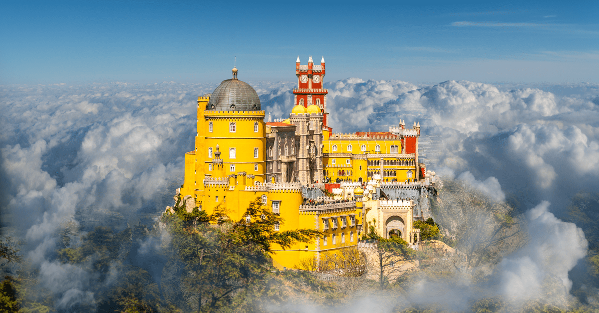 Sintra portugal view