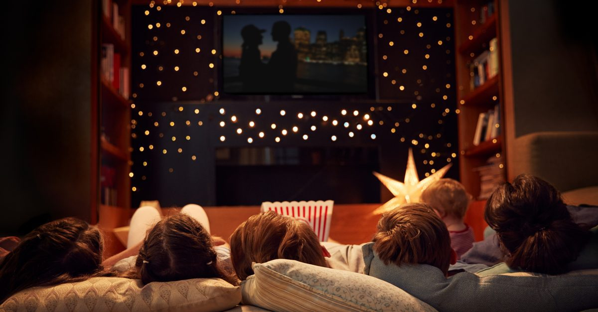 movie night - travel from home