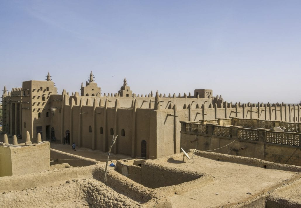 Great Mosque of Djenné, Mali.