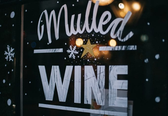 Mulled wine in Stockholm in Sweden