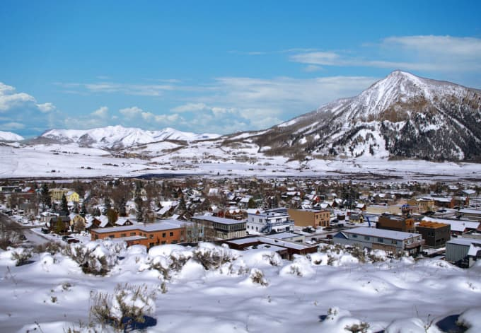 """Crested Butte is a quaint 1880s mining town and a National Historic District. Itâ??s also the """"official wildflower capital"""" of Colorado."""