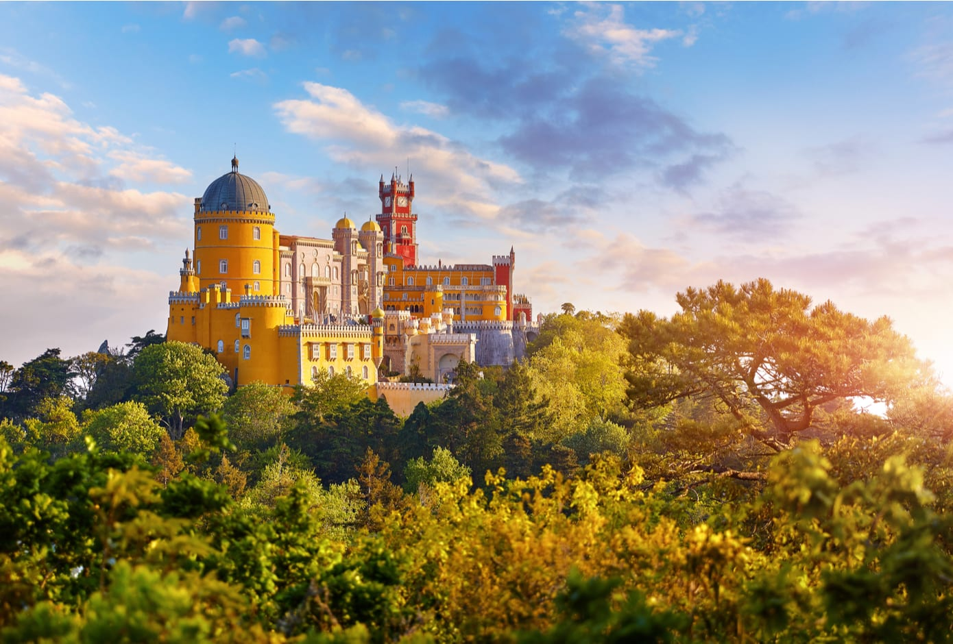 National Palace of Pena in Sintra,  Portugal.