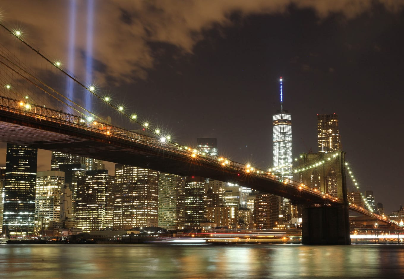 Brooklyn Bridge is among popular outdoors free things to do in NYC