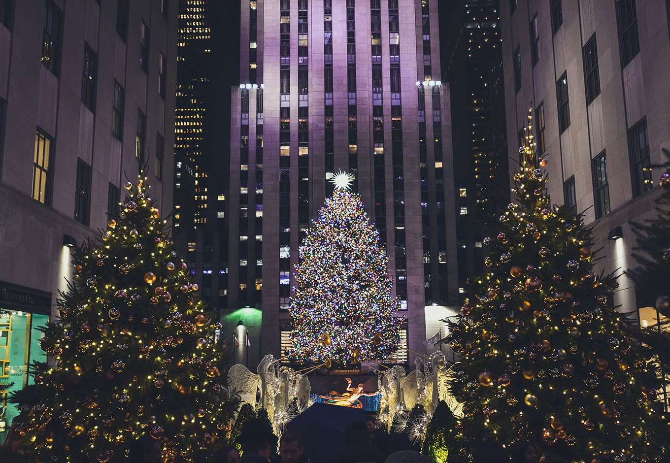 Rockefeller Center Christmas Tree is among best things to do in Christmas NYC Christmas
