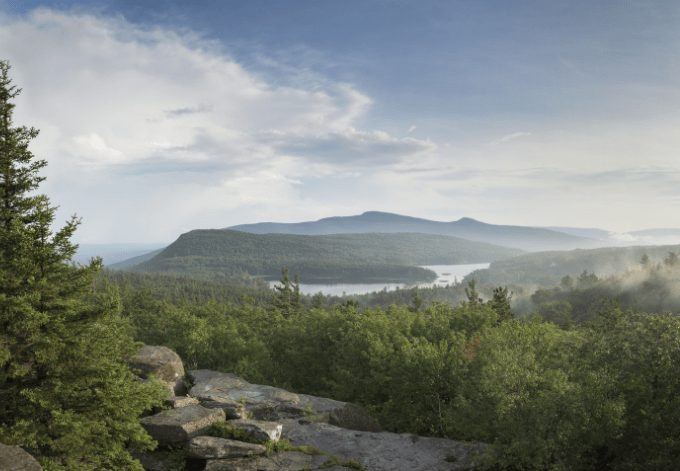 Catskill Mountains, North/South Lakes, Katterskill High Peak and Roundtop Mountain