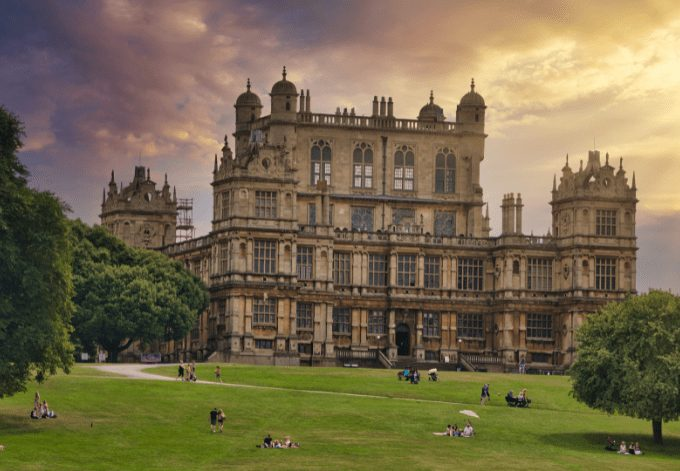 Wollaton Hall was one of the locations used for Wayne Manor in 'Batman Begins'.