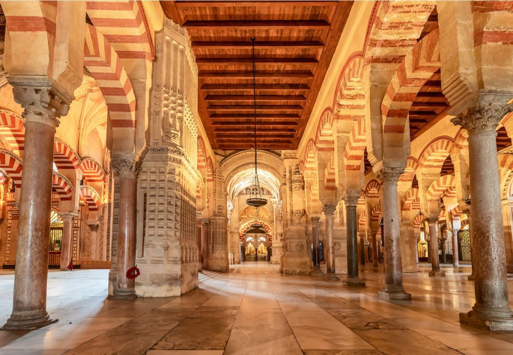 The Great Mosque of Cordoba, Spain.