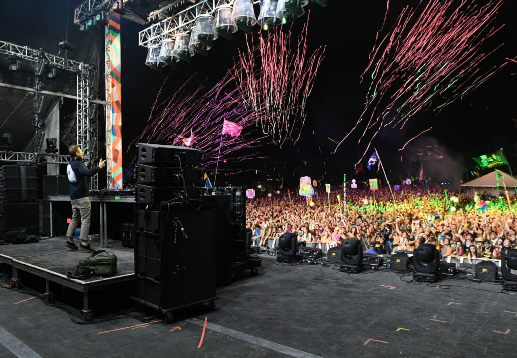 Kaskade performs onstage at The Other Tent during day 3 of the 2018 Bonnaroo Arts And Music Festival on June 9, 2018 in Manchester, Tennessee