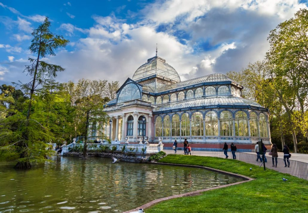 The Buen Retiro Park and the Crystal Palace