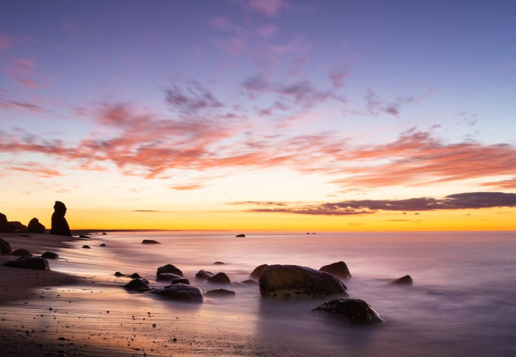Sunrise at Lucy Vincent Beach